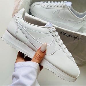 NWT Nike Classic Cortez Leather white